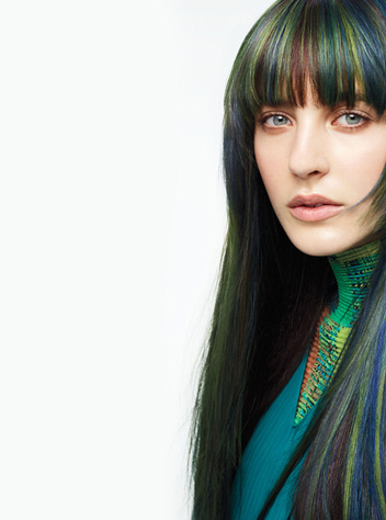 aveda hair color