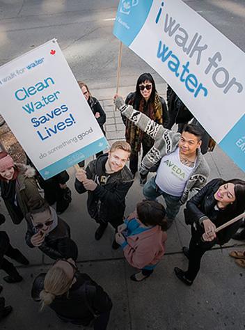 Aveda Walk for Water, WaterAid Canada