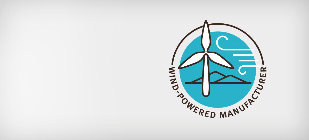 Wind-Powered Manufacturer - Aveda