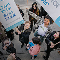 Earth Month Aveda - Wateraid Canada