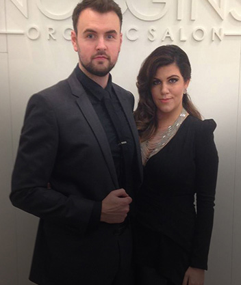 Kez and Gareth Broad - Noggins Salon
