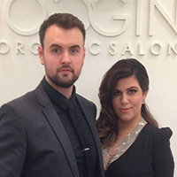 Kez and Gareth Broad, Noggins Salon